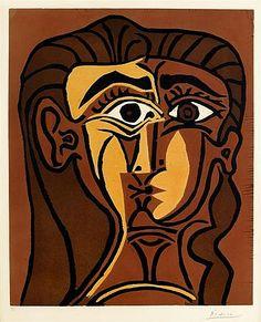 Picasso_TETE_DE_FEMME_PORTRAIT_DE_JACQUELINE_DE_FACE_II