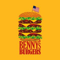 Benny's Burgers from Stranger Things by ToddPierce