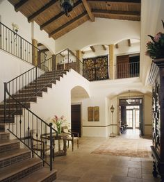 Entry - Spanish Colonial with Moroccan details designed by Thomas Callaway