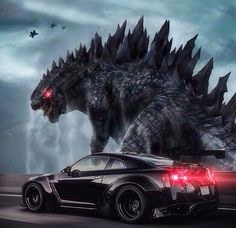 my choice - Nissan GTR #Godzilla rawwww