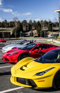 Ferrari Laferrari and 458 Speciale