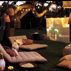 boom - im hooked. whatever you ask - i'll say yes. // outdoor cinema