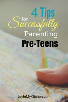 Parenting pre-teens can be frustrating. Make it easier on yourself by following these four tips for success. Both you and your preteen will be glad you did!