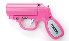 Mace Gun has a 25 feet spray range. It's one of the best self defense devices for a woman. She can carry it in her purse or car.  http://www.absolutesecuritystore.com/blog/uncategorized/2014/03/how-to-handle-mulitple-attackers-from-a-distance/  Repin