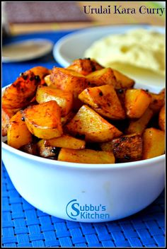 Urulai kizhangu Kara Curry (Potato Curry)