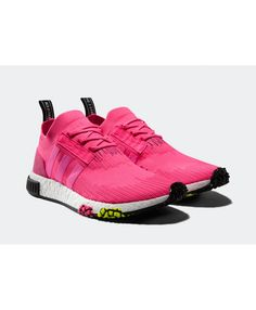 best website 72663 5d04b these womens nmd trainers from adidas come in and , colours of pink and  white, a huge discount for