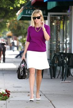 Reese Witherspoon looks put together as she strolls in LA.