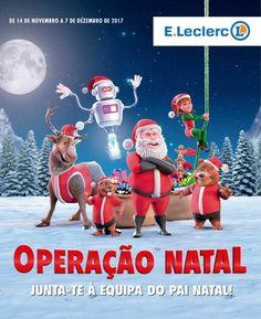 Folheto #ELeclerc operação #Natal seleção de brinquedos em vigor até 07 de Dezembro.