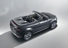Range Rover Evoque Convertible Concept Car