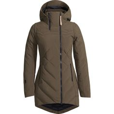 Ayabi Parka: Designed with the coldest-of-the-cold Canadian city winters in mind, this coat stands up to serious temperatures. Insulated with plush down with extra puff where you need