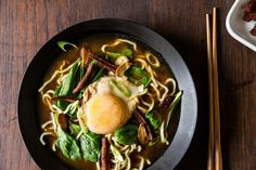 Bacon & Egg Ramen recipe:  Simple and satisfying and adaptable.