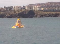 We all Live in a Yellow Submarine... Yellow Submarine... Yellow Submarine... All Aboard! @Tenerife