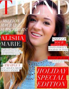 Holiday issue with youtuber Alisha Marie! YAAAAAS WERK