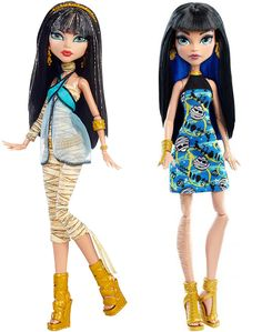 Cleo old and Cleo new from Mattel