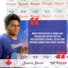 Our students Viral Vaidya got his #studentvisa for #Canada! We wish him the very best for the future and a big thank you for the warm testimonial!  http://kananinternational.com