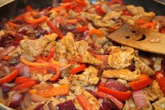 Magyaros stir-fry Stir Fry, Paella, Carrots, Food And Drink, Canning, Chicken, Meat, Vegetables, Ethnic Recipes
