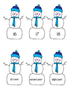 Snowman Unit!  A Winter Wonderland of Teaching!  This is a 95-page unit full of printable literacy, writing, science, and math center worksheets and activities.  It includes:  alphabet, beginning sounds, syllables, numbers, counting, graphing, addition, poetry, sight words, and so much more!  $