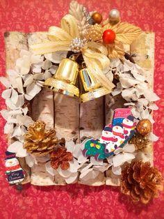 ハンドメイド:クリスマスリース