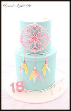 Dreamcatcher cake by Amanda's Cake Art