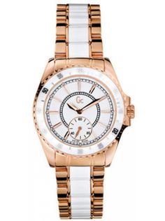 Check out this new hot site with cheap shoes! GC GUESS I47003L1 DAMES HORLOGE - WIT #fashionfootwear