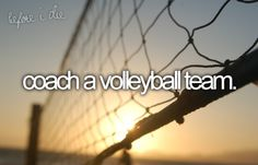 Volleyball Coach.