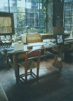 The Artist's Studio, Blue House