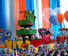 Image result for dragon ball z birthday party supplies