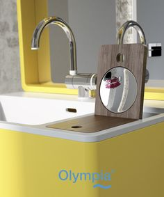 My Bag collection - Bathroom furniture - Olympia Ceramica. http://www.olympiaceramica.it/it/mybag/