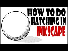 Inkscape Tutorials For Beginners- How To Do Hatching In Inkscape. - YouTube