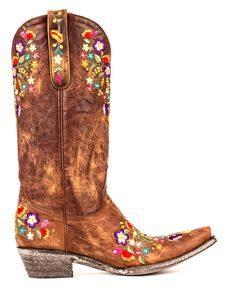 "Old Gringo Womens Sora Boot   I know, not my usual style - but there""s something about cowboy boots............."