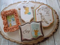 Handmade and Decorated Sugar Cookies Classic by FlourishCakes