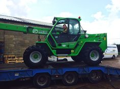 Merlo Telehandler at C&O Isle of Wight depot Isle Of Wight, Tractors, Monster Trucks, Safety, Security Guard