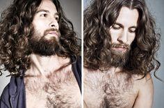 sexy man hair justin passmore