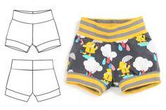 cuff shorts : 023