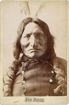 Red Horse, Lakota Sioux by Yenshee Baby, via Flickr
