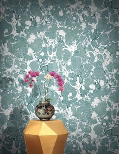 Luxurious modern wallpaper by Scandinavian design company, FEATHR, is now available at The Pattern Collective B&q Wallpaper, Wallpaper Online, Wallpaper Ideas, Evans Art, Rockett St George, Elegant Dining Room, Contemporary Wallpaper, Designer Wallpaper