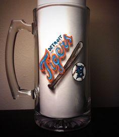 Detroit Tigers http://www.etsy.com/shop/kynaskreations