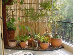cortininha de bambu