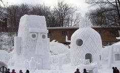 11 Snow Sculptures That Will Freeze Your Brain