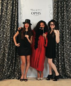 Photo Booth at your Graduation Party!