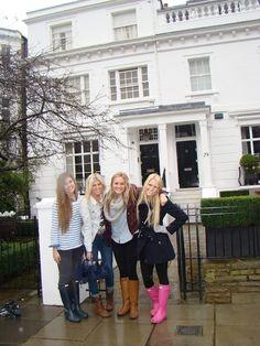 prepoftheplains:  Must visit: the Parent Trap house in London - 23 Egerton Terrace, Kensington, London, England, UK