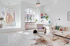Amazing light living room