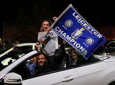 Болельщики «Лестера» отмечают победу в АПЛ - Фото блог - Блоги - Sports.ru