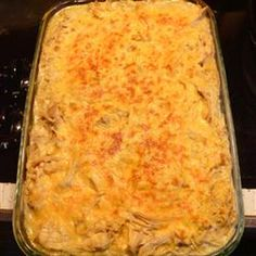 Chicken Tetrazzini..my ABSOLUTE favorite dinner.