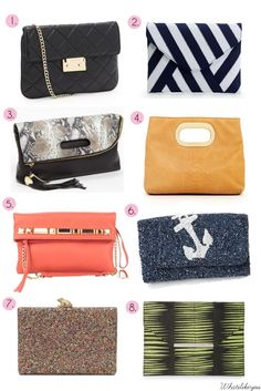 Clutch Bags for Spring!