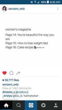 Women's Magazine Satire || Sarcasm Only