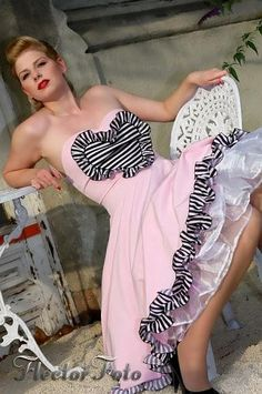 Heart of the Rose Pinup dress by TicciRockabilly on Etsy, $95.00