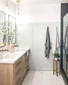 Bathroom Renos, Bathroom Ideas, Remodel Bathroom, Bathroom Inspo, Bathroom Inspiration, Small Bathroom, Bathroom Gallery, Brass Bathroom, Master Bathrooms