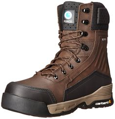 334edb12317e Carhartt Men's 8 Force BN CT INS ZPR Work Boot * New and awesome boots  awaits you, Read it now : Carhartt Boots