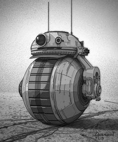 Star Wars: The Force Awakens: BB-8 original design | BGR